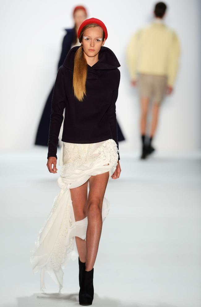 Universitaet Der Kuenste Berlin: Runway - Mercedes-Benz Fashion Week Spring/Summer 2013
