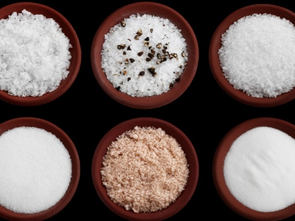 Different kinds of salt: