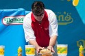 Competitors Vie For Ultimate Eating Prize At Nathan's Hot Dog Eating Contest