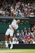 Federer enters Wimbledon semis