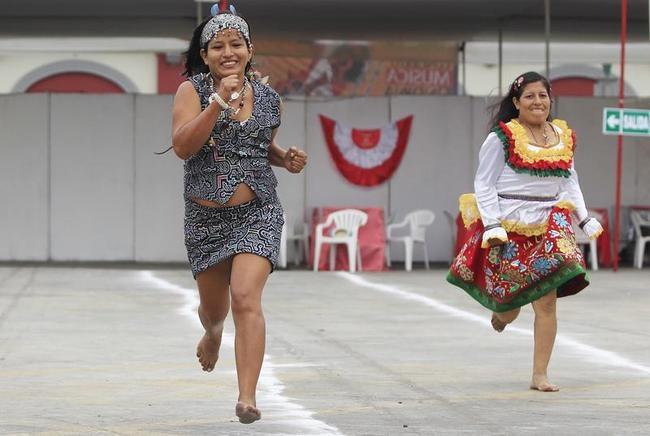 Olympic spirit in Peru