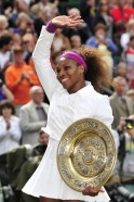 The Queen of Wimbledon