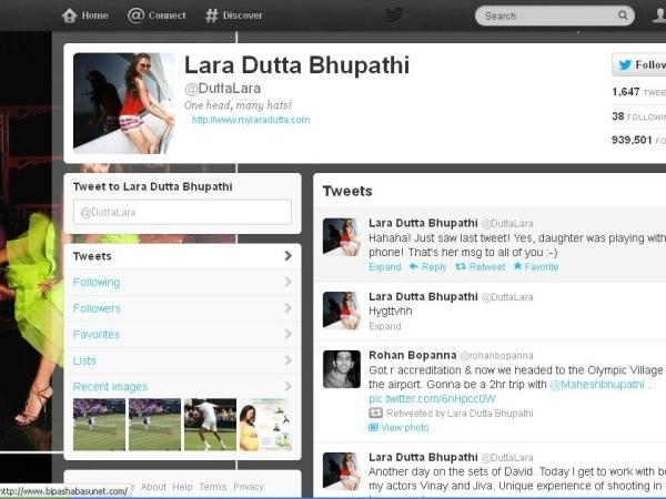 Lara Dutta: