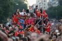 Mega fiesta for Euro heroes