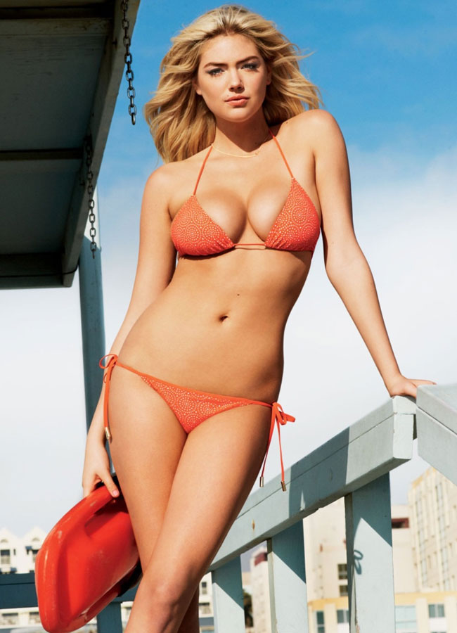 Kate Upton for GQ Magazine, July 2012