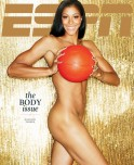 WNBA star Candace Parker posing with her favorite toy