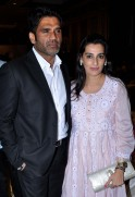 Sunil Shetty with wife Mana