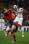 Portugal v Spain - UEFA EURO 2012 Semi Final
