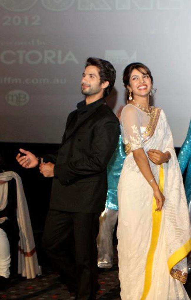 Priyanka, Shahid