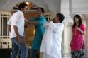 Abhishek Bachchan, Ajay Devgn and Prachi Desai
