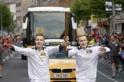 Olympic flame @ Dublin