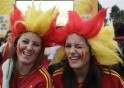 Colourful Euro fans