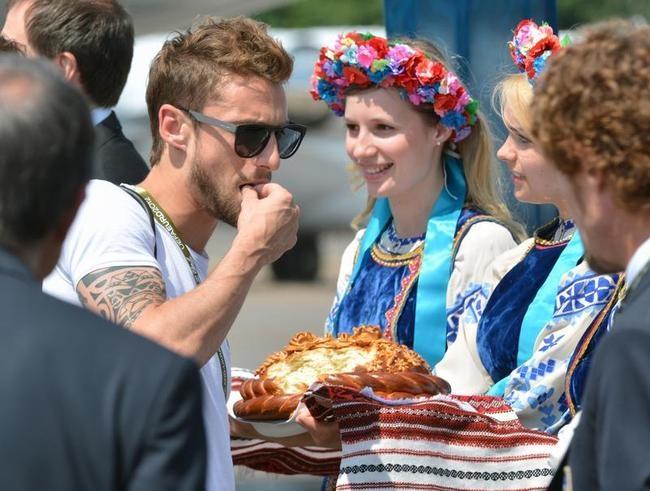 Italy reach Kiev
