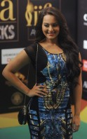 Bollywood actress Sonakshi Sinha poses o