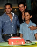 Salman Khan, Sharman Joshi and Ritvik Sahore