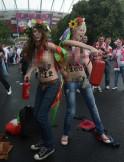 IN PICS: Nude protest @ Euro 2012
