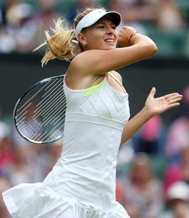 Maria Sharapova at Wimbledon 2012.