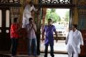 Krushna Abhishek, Abhishek Bachchan and Ajay Devgni