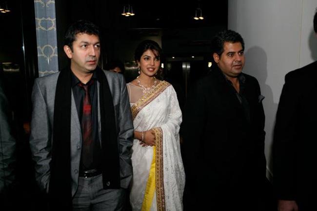 Priyanka, Shahid and Kunal Kohli