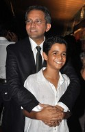 Rajesh Mapuskar and child artiste Ritvik Sahore