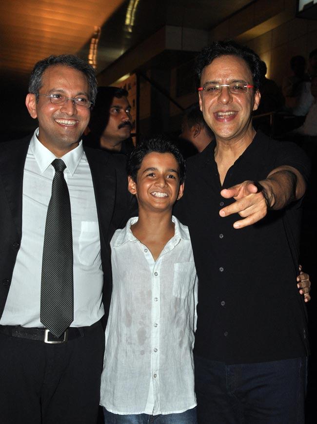 Rajesh Mapuskar, Ritvik Sahore and Vidhu Vinod Chopra