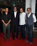 Sharman Joshi, Amitabh Bachchan, Vidhu Vinod Chopra and Rajesh Mapuskar