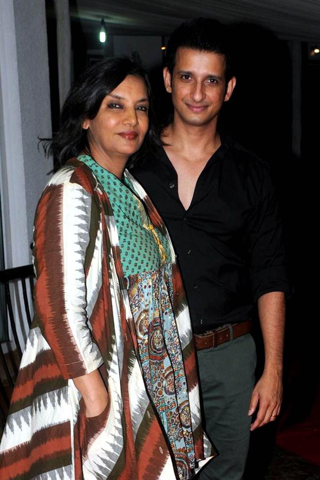 Shabana Azmi and Sharman Joshi
