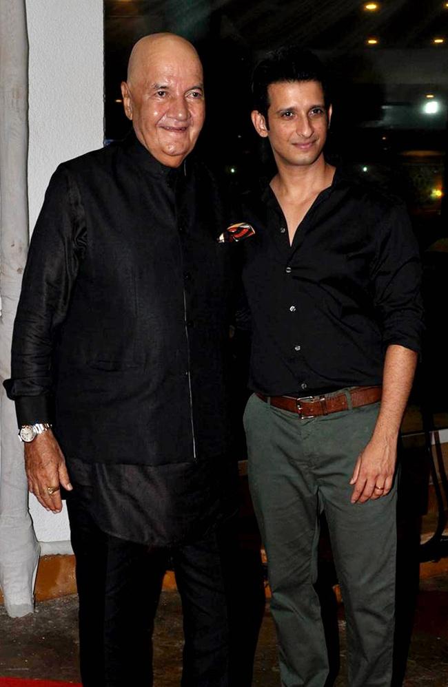 Prem Chopra and Sharman Joshi