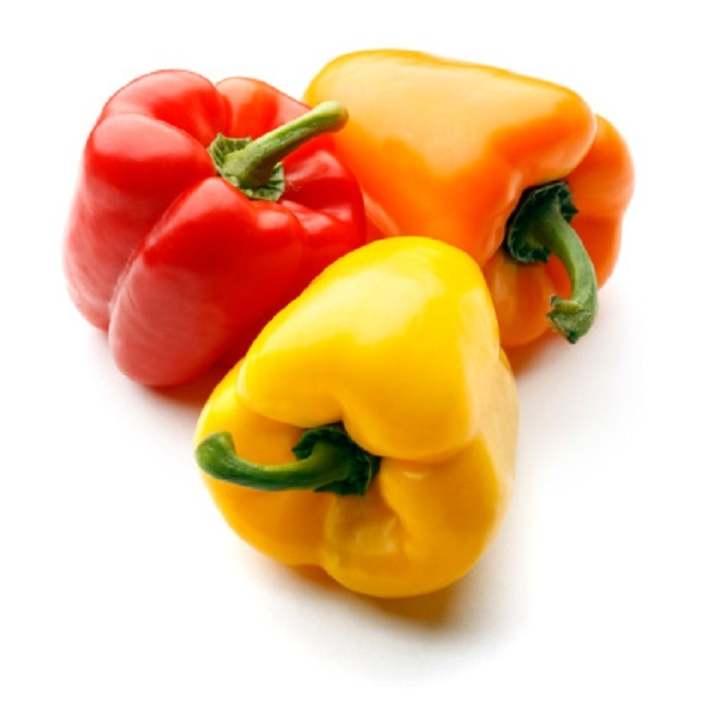 3. Sweet bell peppersTesting positive for up to 15 pesticides on a single sample, these bell peppers weren't so sweet after all.
