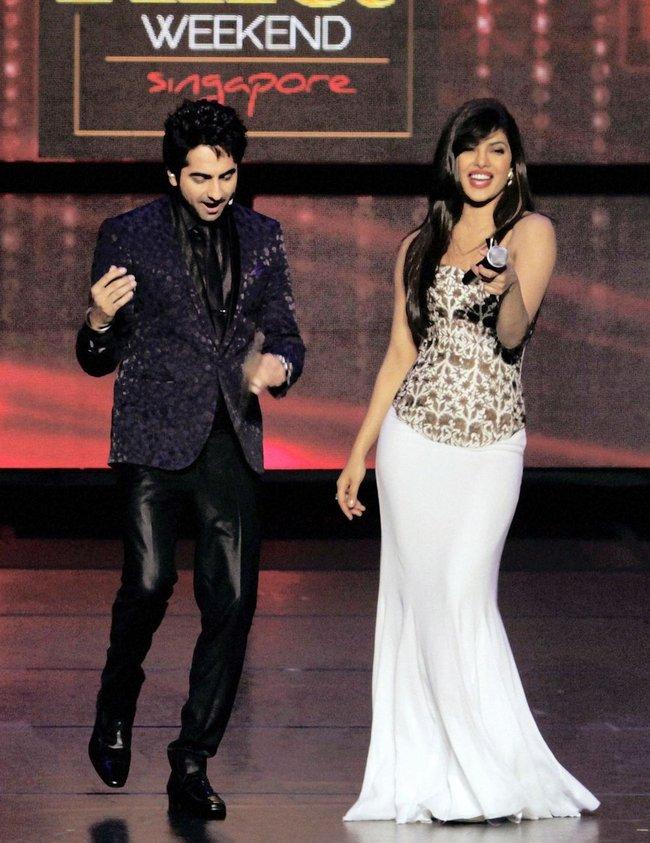 Ayushman Khurana and Priyanka Chopra