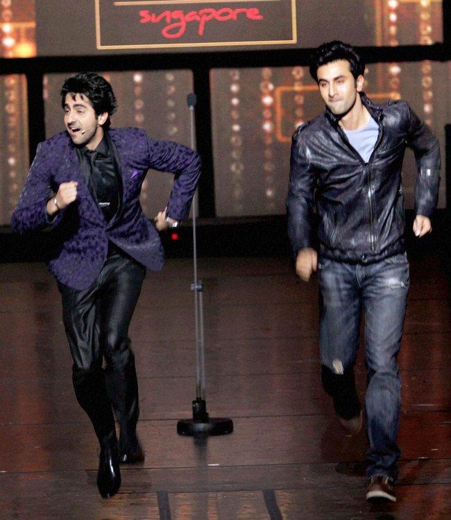 Ayushman Khurana and Ranbir Kapoor