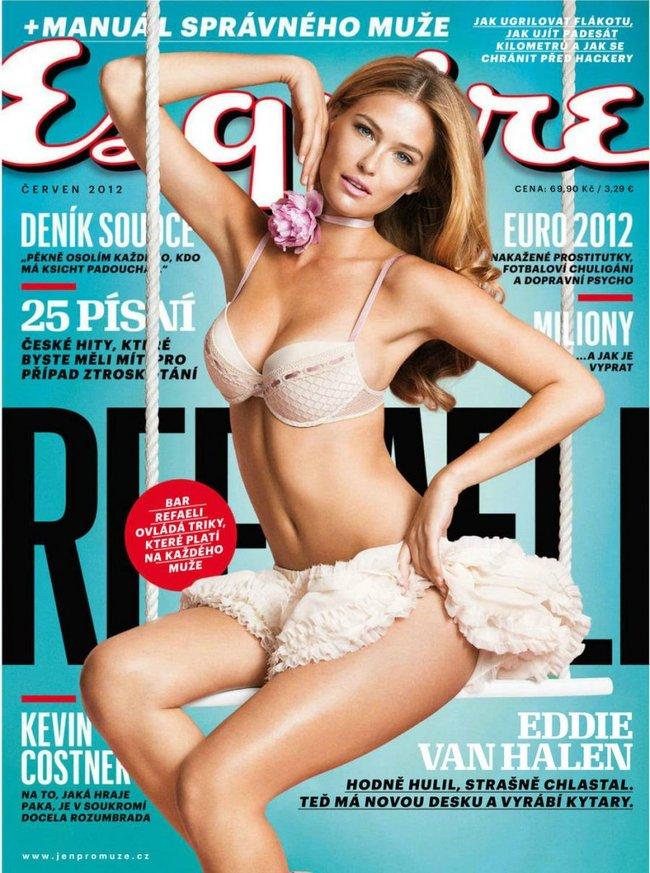 Supermodel Bar Refaeli for Esquire (Czech) - June 2012