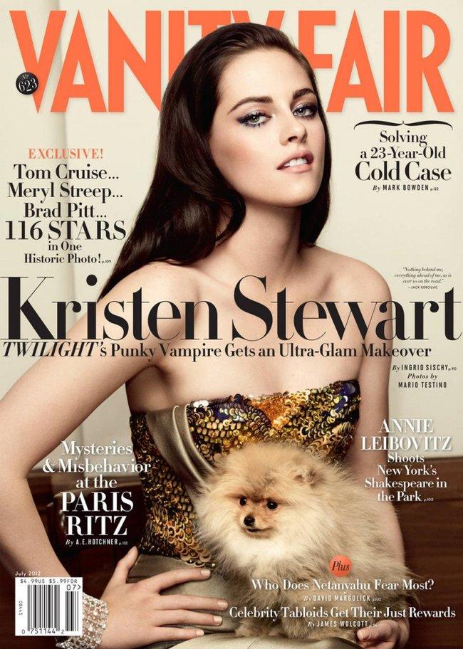 American actressKristen Stewart for Vanity Fair - July 2012