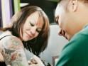 Listen to the tattoo artist