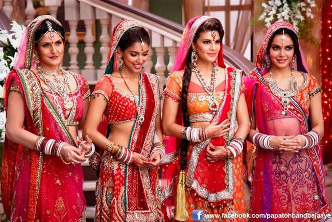 Zarine Khan, Asin, Jacqueline Fernandez and Shazahn Padamsee