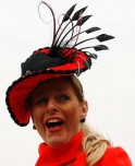 Attractive hairdos @ Cheltenham Festival