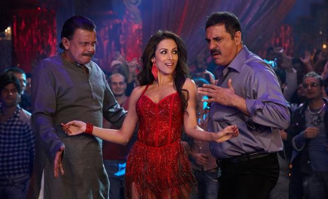Mithun Chakraborty, Malaika Arora Khan and Boman Irani