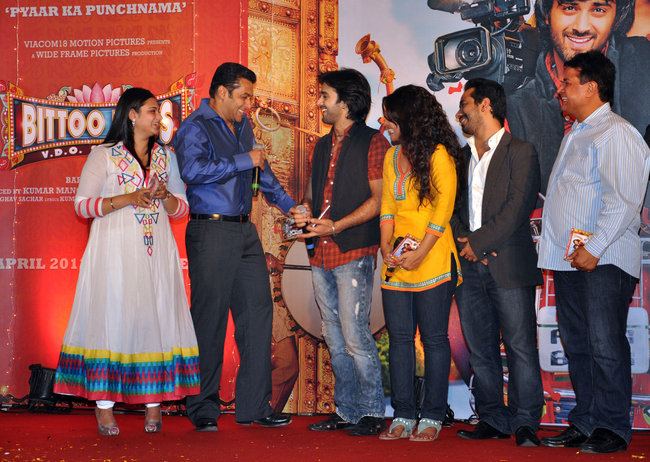 Salman Khan at Bittoo Boss music launch