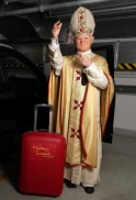 Pope John Paul II Wax Figure Transported To Poland