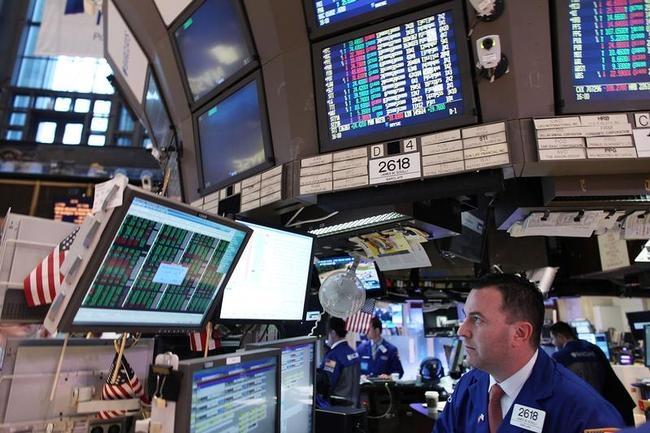 Dow Jones reaches its highest point since December 2007.
