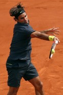 French Open: Roger Federer breaks grand slam record