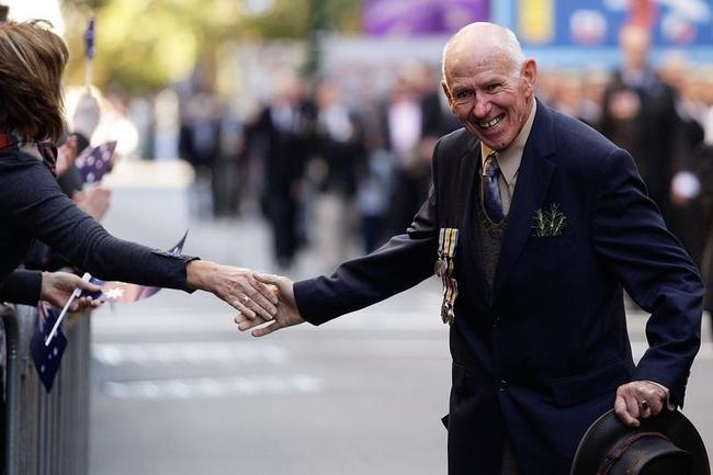Australians Commemorate ANZAC Day