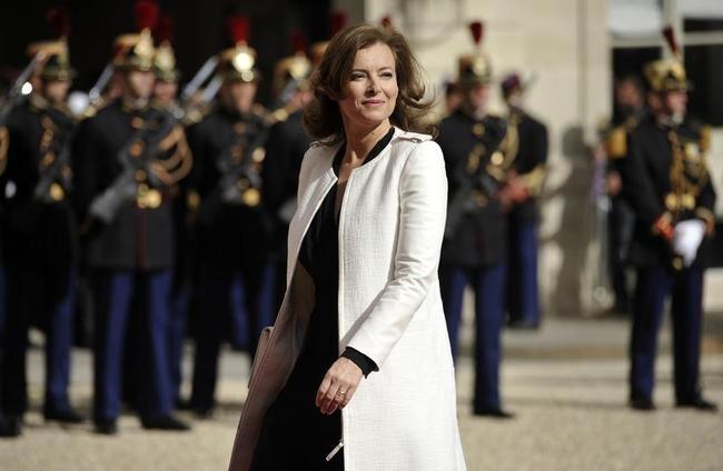 Valerie Trierweiler, companion of France