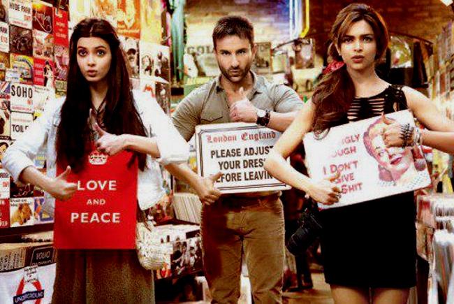 Saif Ali Khan, Deepika Padukone and Diana Penty