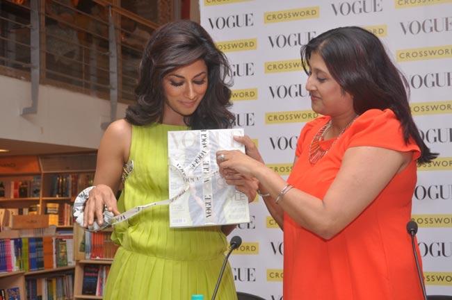 Chitrangada Singh with Priya Tanna
