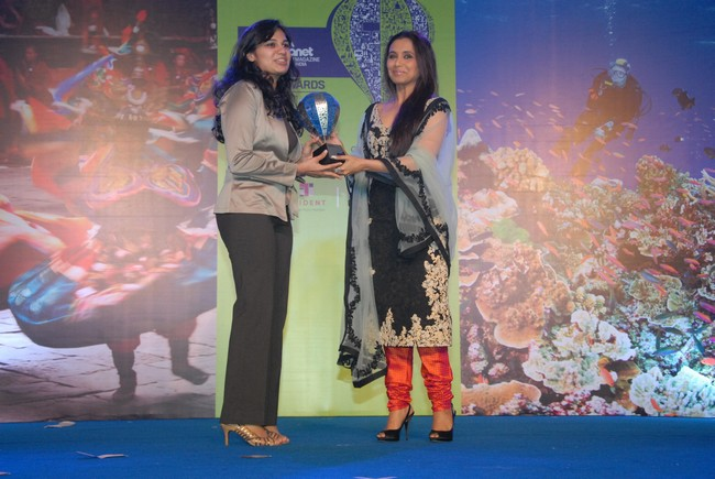 Rani Mukerji at 'Lonely Planet Magazine India - Travel Awards 2012'