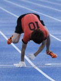 Fastest Four-Limbed 100m Sprint