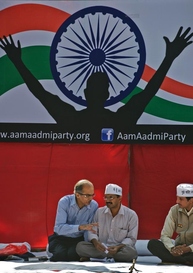 INDIA-POLITICS-KEJRIWAL