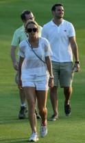 Caroline Wozniacki Sizzles in Dubai