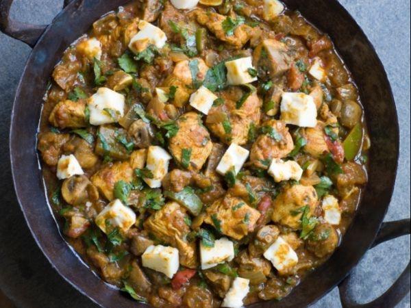 Paneer Chicken Protein-rich Curry